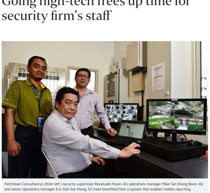 Going High-Tech to Free up time for Security Firm's Staff