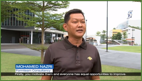 Channel NewsAsia on Security Officers Progressive Wage Model